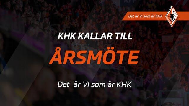 Karlskrona HK kallar till årsmöte (uppdaterad 5/6 med möteshandlingar)