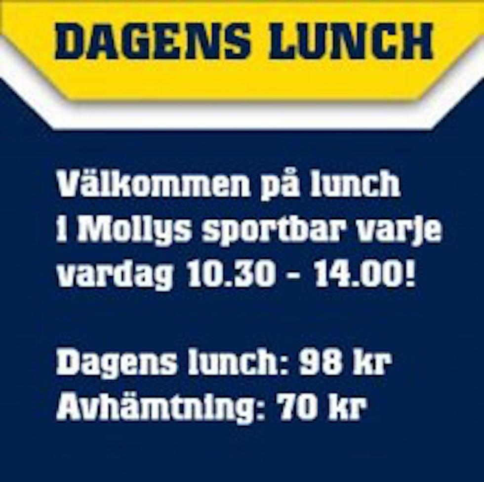 Veckans lunch Mollys