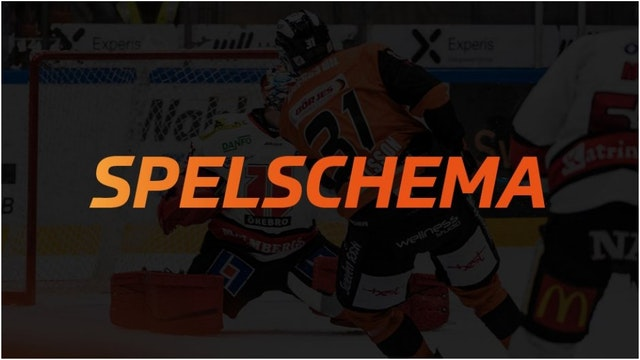 SPELSCHEMA SHL 2017/2018