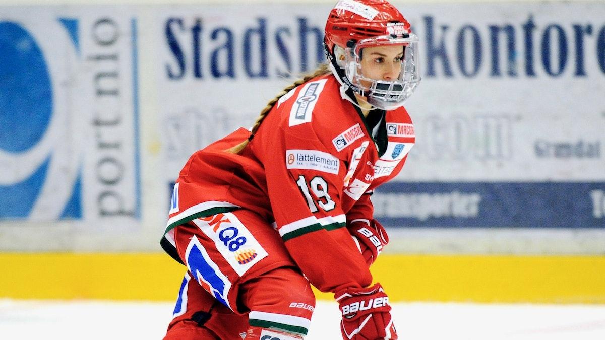 Kaitlyn Tougas är tillbaka i MoDo Hockey