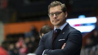 Björn Hellkvist i MODO-båset