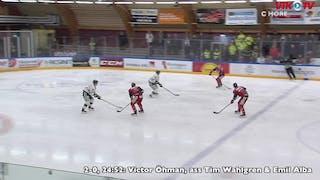 Giftigt 3-mot-2-läge för Öhman, Wahlgren och Alba