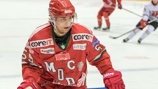 MODO Hockeys Nicholas Müller i MODO-tröja