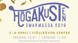 Höga Kusten Smakmässa 5-6 april i Fjällräven Center