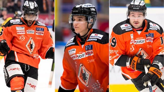 Trio lämnar Karlskrona HK