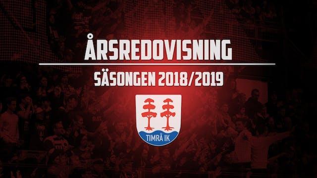 Resultat för säsongen 2018/2019