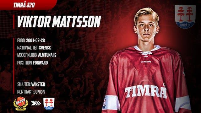 J20: Viktor Mattsson ansluter till Timrå J20
