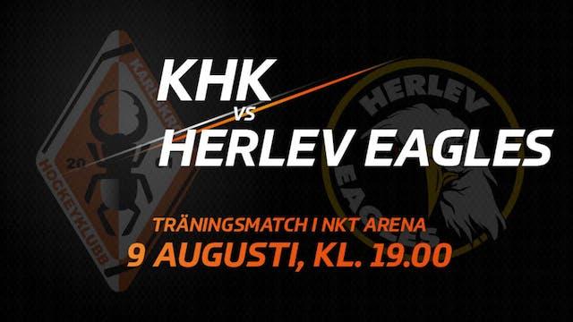 Det är dags! Säsongens första träningsmatch i NKT Arena