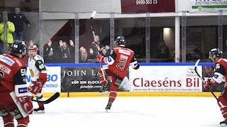 Victor Öhman jublar efter viktiga 2-2-kvitteringen, foto Ilkka Ranta / Frilansfotograferna