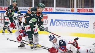 Kalle Miketinac gjorde ett snyggt mål, men det hjälpte föga för Kristianstad som föll med 2-5 mot MODO.