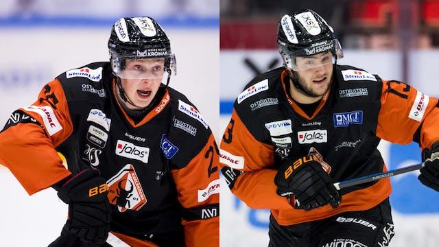 André Nordstrand och Hugo Leufvenius lånas ut
