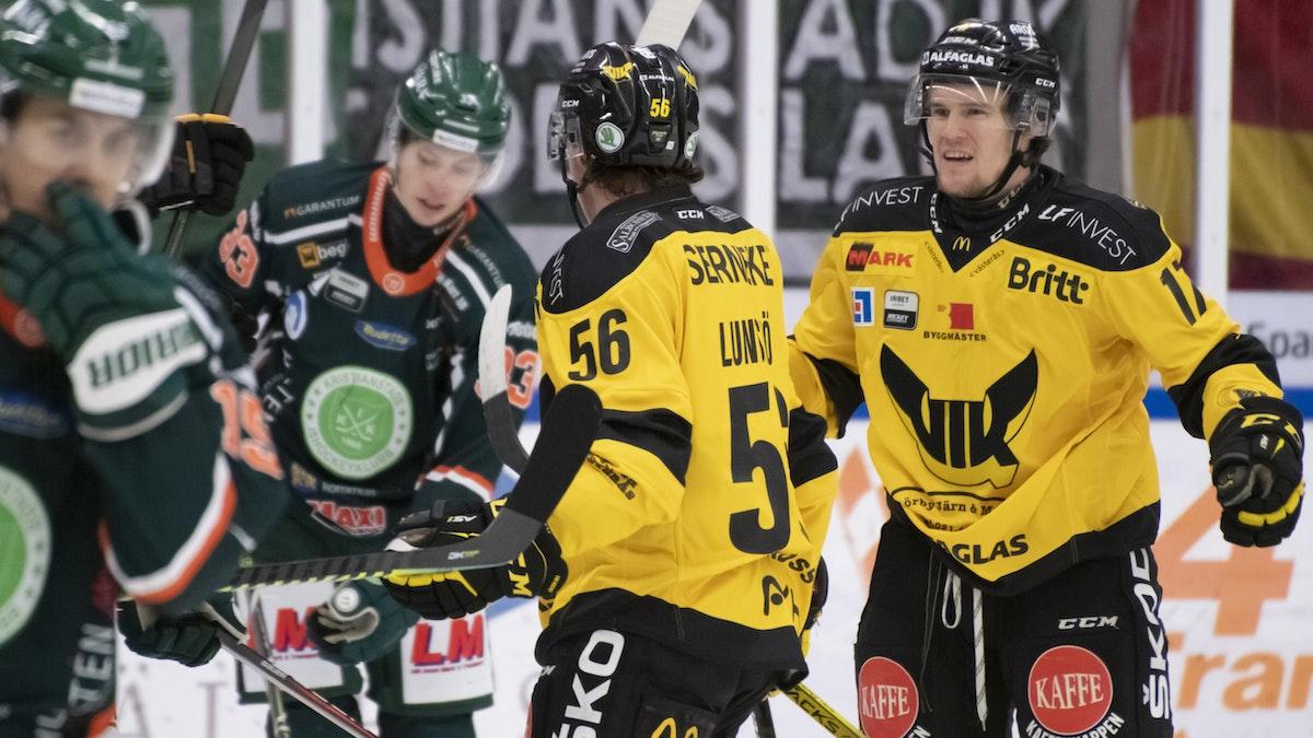 Seger i sista seriematchen borta mot Kristianstad