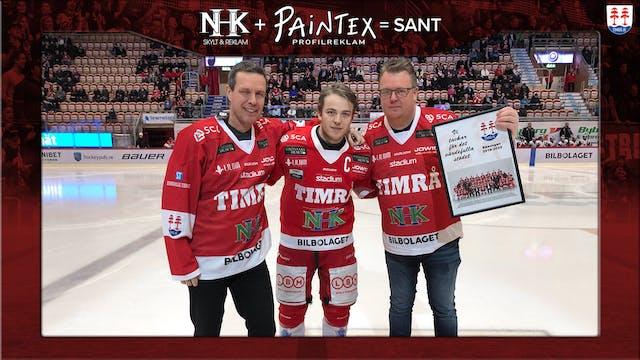 Stort tack NHK Reklam & Paintex, matchvärd mot Västerviks IK