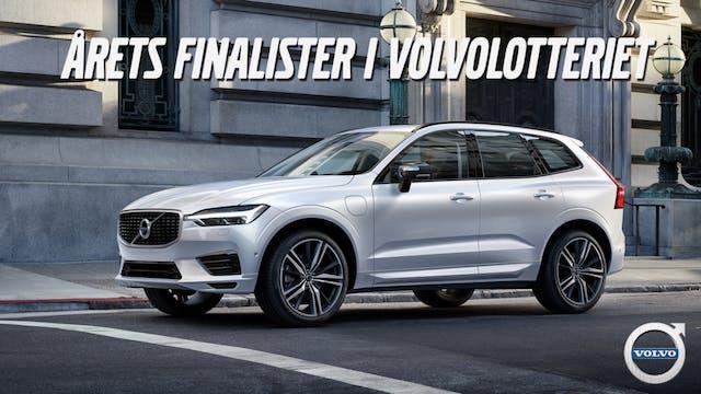 Finalisterna i årets Volvolotteri