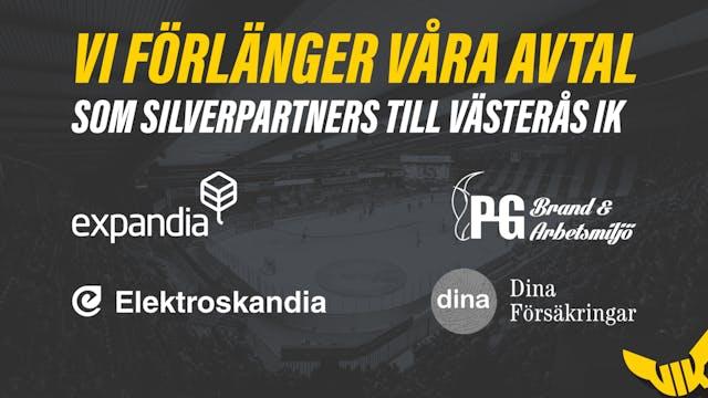 Vi förlänger våra avtal som Silverpartners!