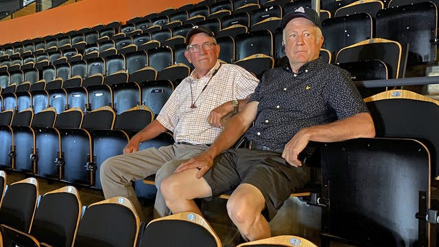 Bosse och Rune har haft säsongskort i 50 år