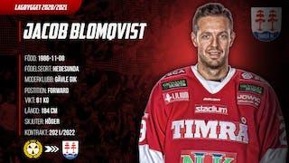 Jacob Blomqvist är klar för Timrå IK över två säsonger