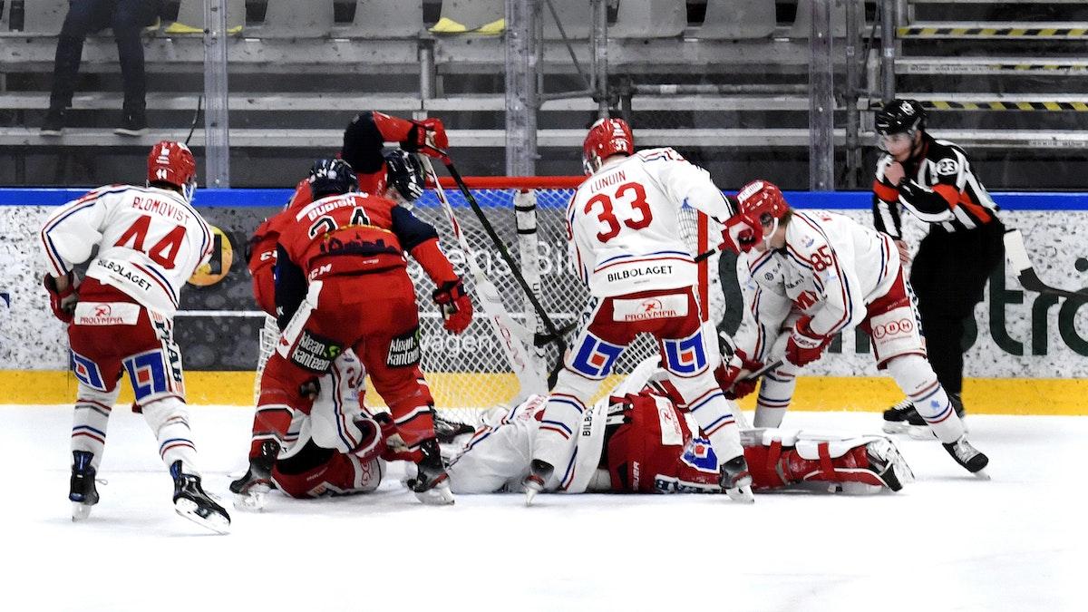 Sent avgörande i förlustmatch borta mot Västervik