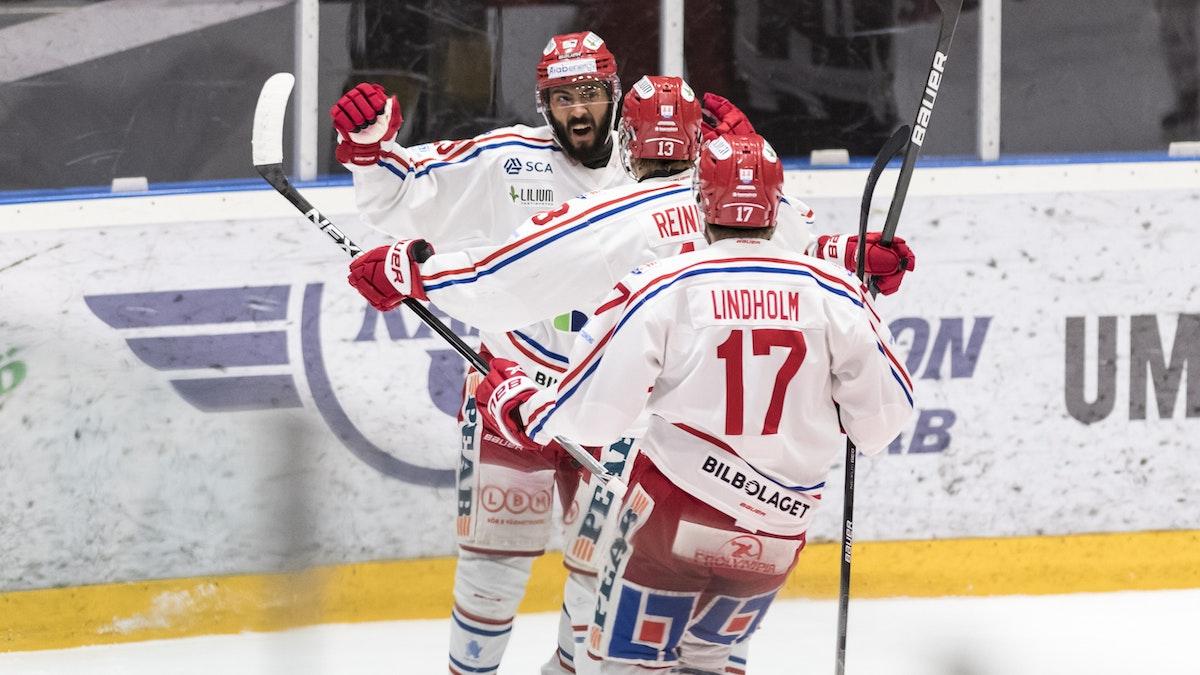 Seger i Umeå - Timrå i förarsätet för första gången i finalserien
