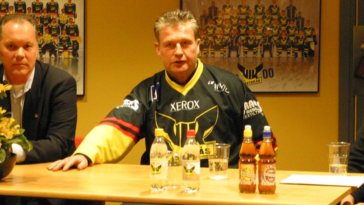 Hockeypodden med Per Bäckman