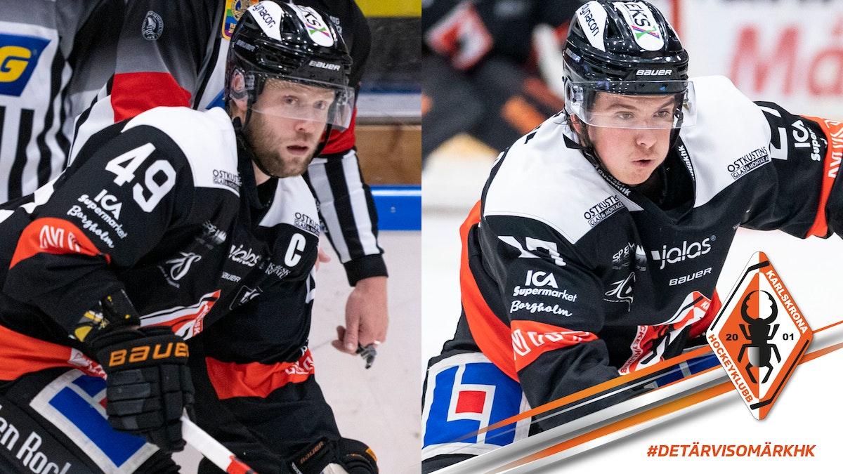 Duo förlänger med Karlskrona HK
