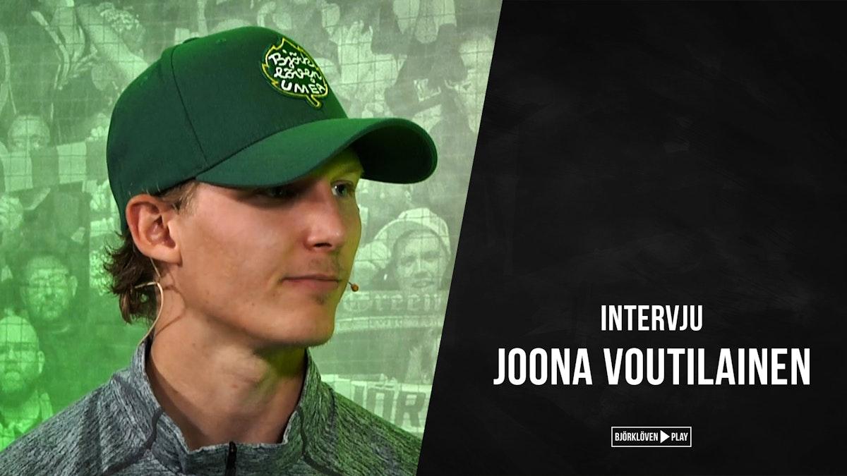 Intervju med Joona Voutilainen